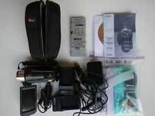 Canon Vixia HF R20 CMOS camcorder, extra batteries & chargers, case, etc.