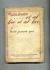 Americo Scarlatti # ET AB HIC ET AB HOC N.8 # UTET 1928