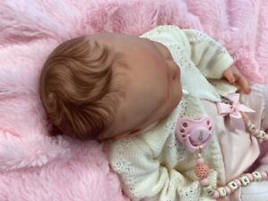 REBORN BABY STUNNING GIRL FROM AUTHENTIC SPICE SCULPT WITH PETER RBBIT OUTFIT