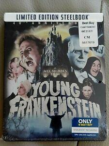 Mel Brooks' YOUNG FRANKENSTEIN (U.S. EXCLUSIVE STEELBOOK  Blu-ray) OOP sold out