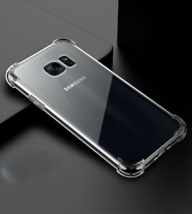 Transparent airbag protective cover for Samsung Galaxy S7 mobile phone