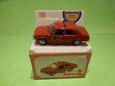 MEBETOYS 1:43  ALFA ALFETTA VIGILI DEL FUOCO - IN ORIGINAL BOX - GOOD CONDITION