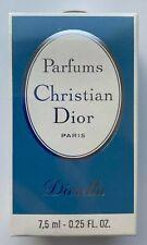 Christian dior diorella parfum 7,5 ml 0.25 fl oz VINTAGE SEALED BOX