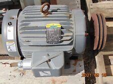 Baldor M2333t 15hp Industrial Motor 208 230460v 1760 Rpm 3 Ph 254t Frame