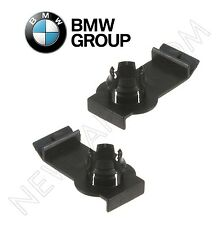 NEW For BMW E53 X5 Pair Set of 2 Front Window Regulator Clips Left+Right Genuine