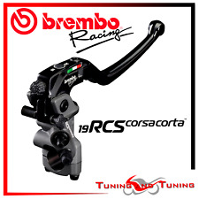 BREMBO RCS FRONT BRAKE MASTER CYLINDER RCS 19 RCS19 CORSA CORTA (110C74010)