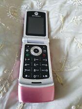 Motorola VGA Flip Phone Pink