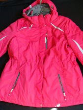 NWT Women's Below Zero Winter Jacket Size 1X Winter 3-in-1 Coat Pink Hooded NEW