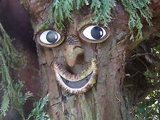 Cara de árbol-Decoración De Jardín, estatua, escultura, decoración del árbol, árbol de Arte, Regalos