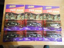 Johnny Lightning Complete 2000 Hong Kong Toy Fair Set Of Camaros'