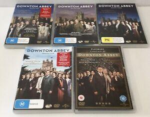 Downton Abbey Season 1-4 + Christmas At Downton Abbey DVD