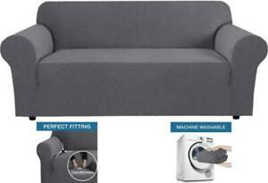 """Stretch Sofa Cover Cushion Couch Protector Shield Removable Washable 72""""-96"""" NEW"""