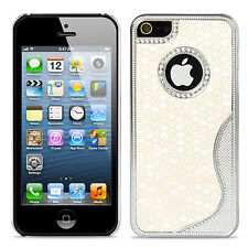 For Apple iPhone 5 5S Aluminum Fashion S-Line Football Pattern Cover Case Skins