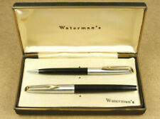 Waterman's 14K Fountain Pen & Pencil Vintage Set Made in USA