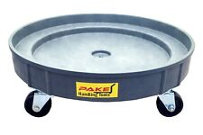 Pake Handling Tools Plastic Drum Dolly for 30 gal and 55 gal Drums, 900 lb. CAP