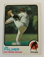 1973 Jim Palmer # 160 Baltimore Orioles Topps Baseball Card HOF