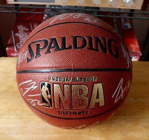 CHICAGO BULLS Team Signed NBA SPALDING Basketball W/Proof ROSE & JIMMY BUTLER