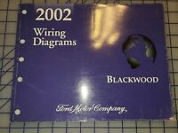 2002 Ford Lincoln Blackwood Wiring Electrical Diagrams Manual