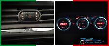 adesivi auto alfa romeo giulietta clima tasto hazard sticker decal carbon look