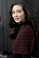 Lang Yarns Malou Light / Lusso Knitting Pattern Cape As Download Fam 249