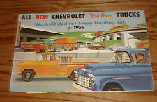1955 Chevrolet Truck Full Line Sales Brochure 2nd Series 55 Chevy Pickup