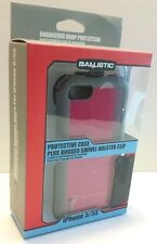 IPHONE 5 5S SE BALLISTIC EVERY1 HYBRID CASE PINK BUILT IN SCR. PRO. - USA SELLER