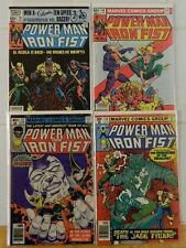 4 POWER MAN & IRON FIST KEY ISSUES LOT/57 X-MEN 66 78 84 2ND/3RD/4TH SABRETOOTH