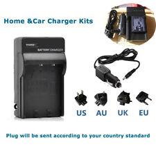 Battery Charger for Panasonic LUMIX CGA-S007e DMC-TZ1 TZ2 TZ3 TZ4 TZ50 TZ11 TZ15