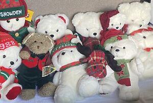 Vintage 1998 Dayton Hudson x Target Snowden Plush Bear 18' Tall Christmas