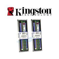 2X Memoria RAM Ordenador PC Sobremesa Kingston KVR800D2N6/1G DDR2 1GB 800MHZ
