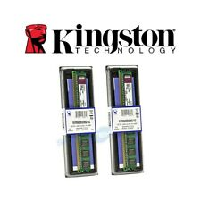 2X MEMORIA RAM COMPUTER PC DESKTOP KINGSTON KVR800D2N6/1G DDR2 1GB 800MHZ.