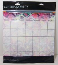 Cynthia Rowley Dry Erase Office Organization Kit Calendar Planner Notes 6pc