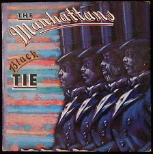 *** 33 TOURS / LP VINYL THE MANHATTANS - BLACK TIE *CBS RECORD / PRESSAGE NL ***