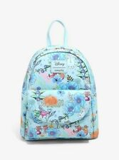 Official Loungefly Disney Cinderella Floral Mini Backpack Bag New