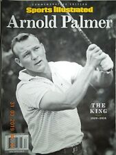 ARNOLD PALMER sports illustrated THE KING 1929-2016 COMMEMORATIVE EDITION