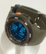 LED Digital Military Army Bundeswehr Uhr Tactical Watch Wasserdicht Survival Gr