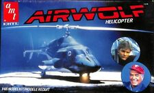 AMT ERTL 1:48 Airwolf Helicopter Plastic Model Kit #6680