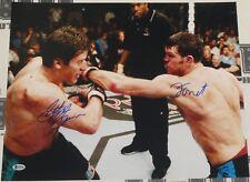 Forrest Griffin Stephan Bonnar Signed 16x20 Photo BAS Beckett COA UFC Autograph