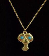 """Vintage E.T. Charm Necklace 18"""" Pop Culture 80s Alien Gift"""