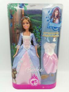 Barbie Princess Erika Doll #L8137 + Extra Dress & Accessories - HTF New 2007