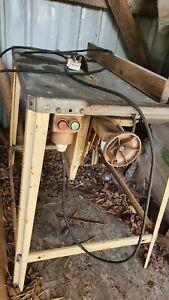 "Scheppach Bench Table Saw 12"" 240v"