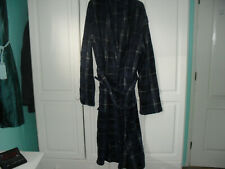 F & F Signature Supersoft Long  Navy Dressing Gown - Size L/XL - BNIB