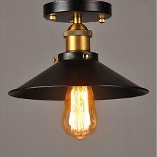 Vintage Industrial Iron Loft Ceiling light Chandelier Pendant Lamp Fixture UK