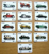UNUSUAL COLLECTABLE SUIT OF CARDS ( CLUBS ) ISSUED BY AUDI OF VINTAGE AUDI CARS