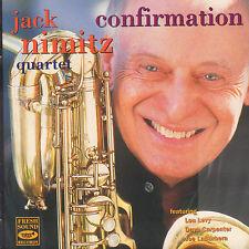 JACK NIMITZ QUARTET - CONFIRMATION (1996 JAZZ CD)