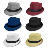 Summertime Beachside Unisex Brim Designed Buckle Fedoras Sun Hat