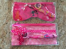 Barbie - 2 My Fab Travel Kits With Toothbrush With Cap & Travel Bag