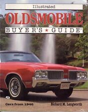 Book - Illustrated Oldsmobile Buyers Guide - Langworth - New Rocket 88 Toronado
