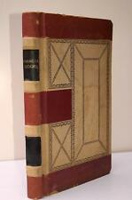 Antique Indiana Farmer's Ledger Account Book C.E. Schaeffer 1912 Mennonite