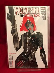 Wolverine Black White and Blood #4 2021 Marvel Comics